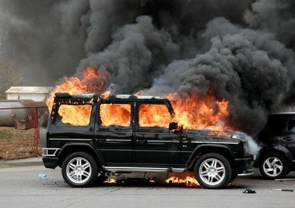 Выкуп горелых автомобилей